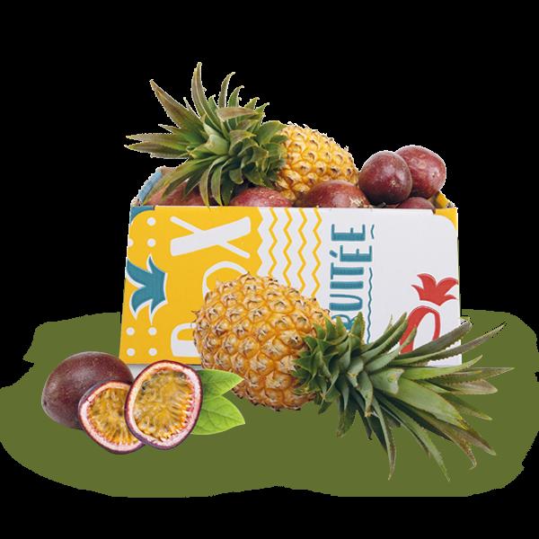 Box ananas et passion