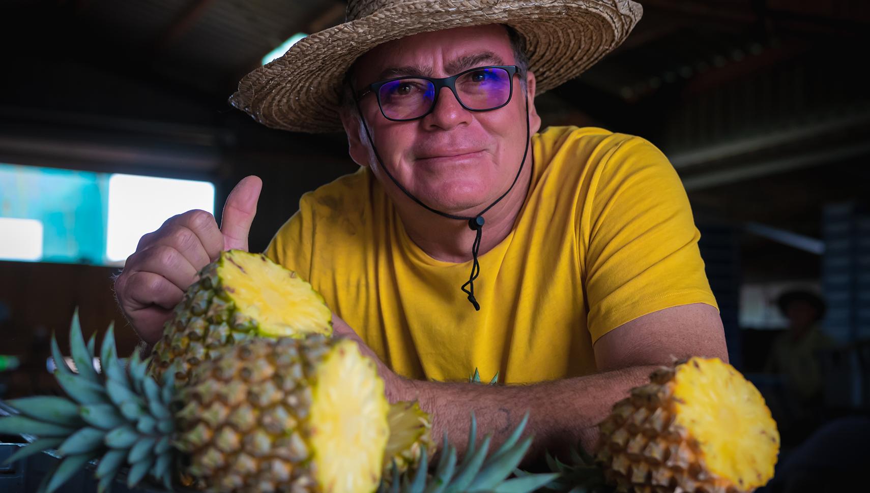Christian Barret ananas Victoria