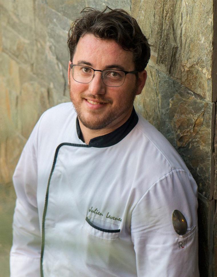 Julien Leveneur chef chef pâtissier Iloha Seaview Hotel