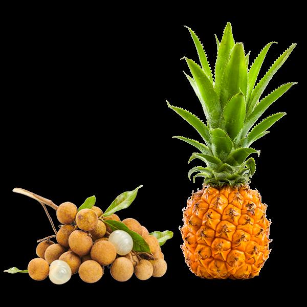 Longanis-ananas