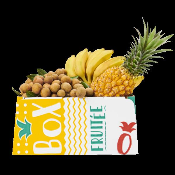 ananas bananes longanis