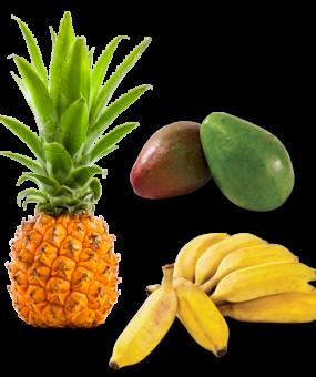 Avocat-Ananas-Banane